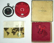Omega Stopwatch MG 3651 Double Chronograph 07/1973 CIB 3176756 + Warranty + Box