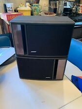 Bose Model 141 Pair Full Range Bookshelf Speakers 80W Gray Sound Great