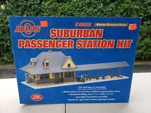 Atlas 6901 O Suburban Passenger Station Kit NIB. Sealed.