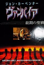 Vampires 1998 John Carpenter Horror Japan Mini Movie Poster Chirashi Japan B5