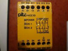 Pilz Safety Relay 774-314 Pnoz/X3/110V24V