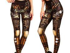Steampunk Leggings neu Gothic Punk Hose 36 38  Cosplay