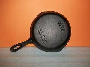 "Wagner Ware Cast Iron #5 Skillet 8"" USA"