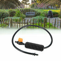 Garden Micro Irrigation Hose Kit Misting Cooling Nozzle 5-head Watering System