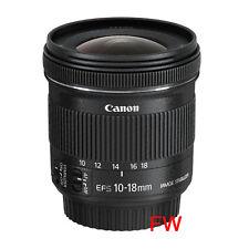 Canon EF S 10-18 mm 4,5-5,6 IS STM Weitwinkel Objektiv NEU