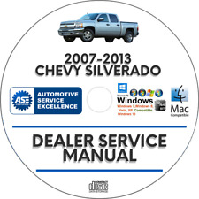 Chevrolet Silverado 2007-2013 Service Repair Manual Workshop