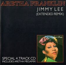 ARETHA FRANKLIN - JIMMY LEE (EXTENDED VERSION) / ARETHA MEGAMIX - RARE CD