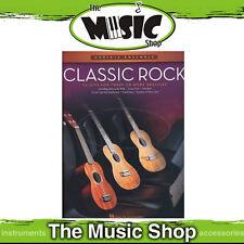 "New ""Classic Rock Ukulele Ensemble Mid Intermediate"" Music Book - 3 Part"