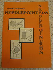 Needlepointers by Daphne Ginnings Potpourri of Sewing Tips Booklet 1970s
