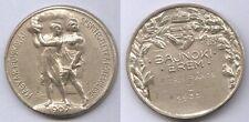 Orig.Medaille   Meisterschaft im Rudern Ungarn 1938 - 2.Platz Doppel  !!  SELTEN