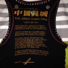 Original The Great China Wall TGGW Swarvoski Crystals Tank Top Gr.XS-S,34 Jades