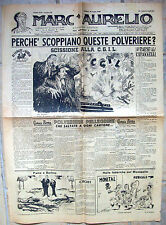 1948 GIORNALE ROMANO SATIRICO POLITICO 'MARC'AURELIO' SU SCISSIONE C.G.I.L.