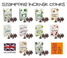 STAMFORD Incense Dhoop Cones *Choose Fragrance Insence Scent Aromatherapy Spa