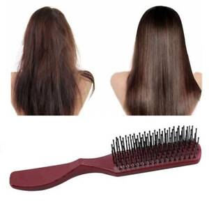 Professional Styling Knot Comb Detangler Hairbrush Curly Hair Comb SG