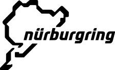 Nürburgring Wunschtext viele Farben Größe 15 cm x 9 cm DECUT DECAL ANSEHEN