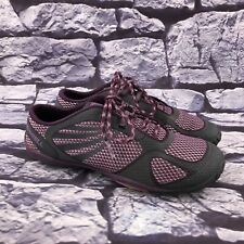 Merrell Barefoot Pace Glove Women's Purple Gray Trail Running Shoes Size 7.5
