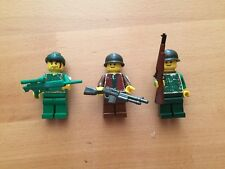 Custom Lego Military Minifigures WITH BRICKARMS WEAPONS