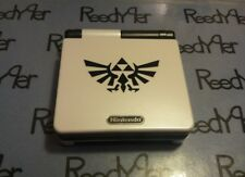 White & Black Zelda GameBoy Advance SP *MINT* AGS-101 Brighter Nintendo system