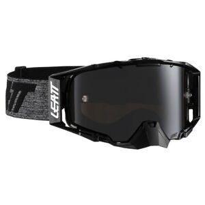 Leatt Velocity 6.5 MX Goggles - Iriz Black Grey w/Platinum Lens