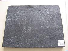 Black Acrylic Felt with silver glitter finish 23 x 30 cm AF02/20 Craft Factory