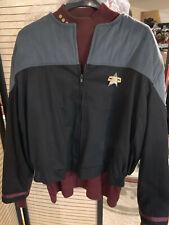 Star Trek First Contact Paramount command grey uniform top