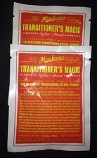 Two (2) Miss Jessie's. Transitioners  Magic Sample/Travel Packs.. No More Frizz!