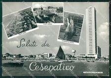 Forlì Cesenatico Saluti da Foto FG cartolina KF1624