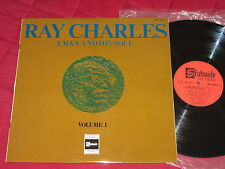 RAY CHARLES : A Man and his Soul Vol 1 - RARE VYNIL LP 33T. - STATESIDE FR. 1967