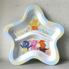 New Zak Backyardian Star Shaped Divided Infant Children Plate 44719