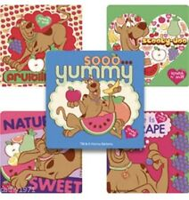 NEW Lot of 10 Scooby Doo Yummy  Stickers - Parties, loot bags, craft & cards
