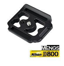 Quick Release Plate Tripod Adapter For Nikon D800 Camera 1/4 Inch Mounting Screw