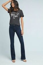 NWT $198 CITIZENS OF HUMANITY EMANUELLE MID-RISE SLIM BOOTCUT JEANS SZ 26 ANTHRO