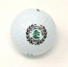 Country Club of Naples Logo Golf Ball Titleist Nxt (Naples, Fl) Vtg