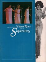DIANA ROSS AND THE SUPREMES 1968 LOVE CHILD TOUR CONCERT PROGRAM BOOK / EX 2 NMT