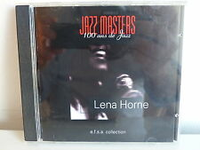CD ALBUM Jazz masters 100 ans de jazz LENA HORNE