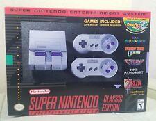 SNES Classic Mini Edition - Super Nintendo Entertainment System - Brand New
