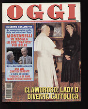 OGGI 4/1994 MONTANELLI NANCY KERRIGAN VERDONE ASIA ARGENTO MICHAEL JACKSON NOGIC
