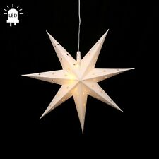 LED estrellas de Adviento Plegable Ø 45 exteriores navidad 7 Zack Blanco 100220