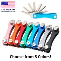 Key Organizer Collector Quickdraw Keychain Smart Folder Gear Clamp Pocket EDC
