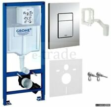 GROHE RAPID SL FRESH 5in1 TOILET CISTERN WC FRAME SKATE COSMOPOLITAN PLATE 38827