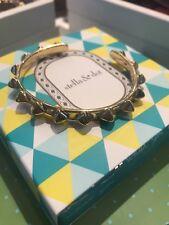 Stella & Dot Pyramid Stud Cuff Bracelet, Gold
