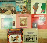 Lot of 8 LP Vinyl Records Vintage Orchestra, Symphonies & Movie/Play Soundtracks
