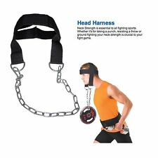 Nylon Head Harness Neck Strength Head Strap Weight Lifting Exercise Fitness Belt
