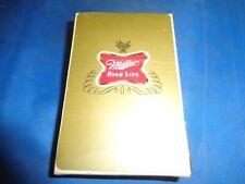 Vintage Miller High Life Playing Cards New! Still Sealed! - Original