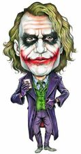 The Joker Heath Ledger Caricature Batman The Dark Knight Sticker or Magnet