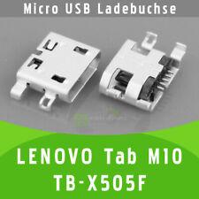 ✅ Lenovo Tab M10 TB-X505F Micro USB DC Buchse Ladebuchse Connector Port Socket