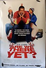 """Are We There Yet? - 27""""x40"""" 2 Sided ORIGINAL Movie Poster - Ice Cube, Nia Long"""