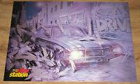V-Rally  / Driver very rare video game Poster  58x80cm