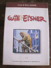 "L'arte di Will Eisner Italian Language B&W ""Hardcover"" Comic digest"