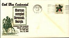 Event: Civil War Centennial - Sherman Occupied Savannah Georgia 1964 Lot#767
